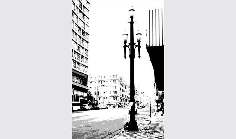 33 x 50cm - Digital Art printed on Acrylic - 2010