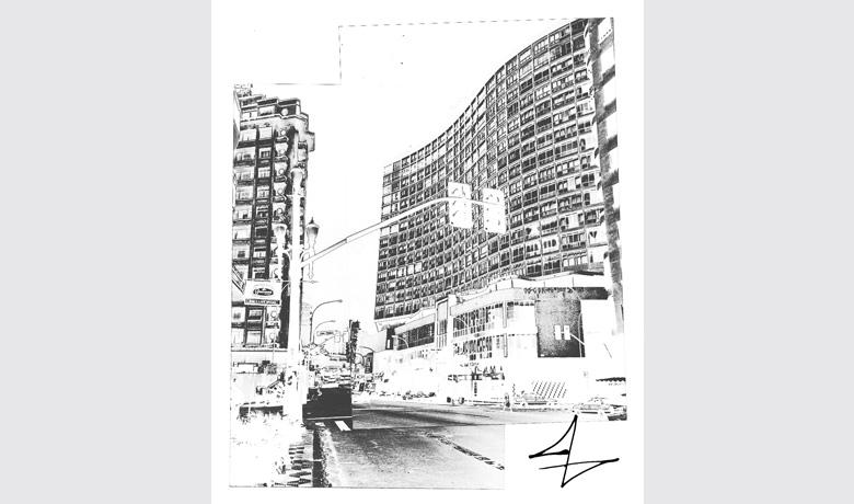 42,5 x 50cm - Digital Art printed on Acrylic - 2010