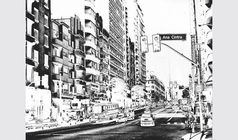 50 x 38cm - Arte Digital impressa sobre Acrílico - 2010