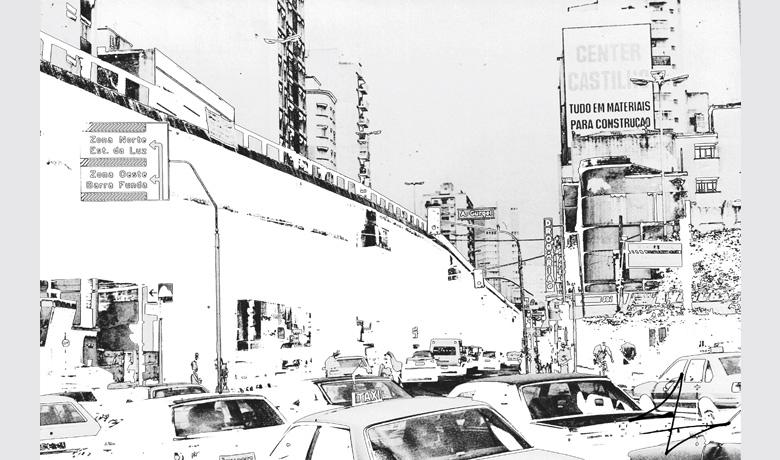 50 x 33cm - Arte Digital impressa sobre Acrílico - 2010