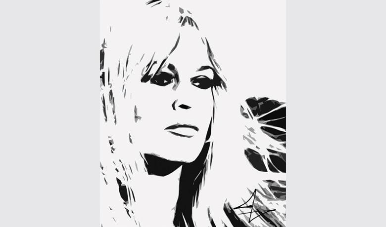 40,5 x 50cm - Arte Digital impressa sobre Acrílico - 2010