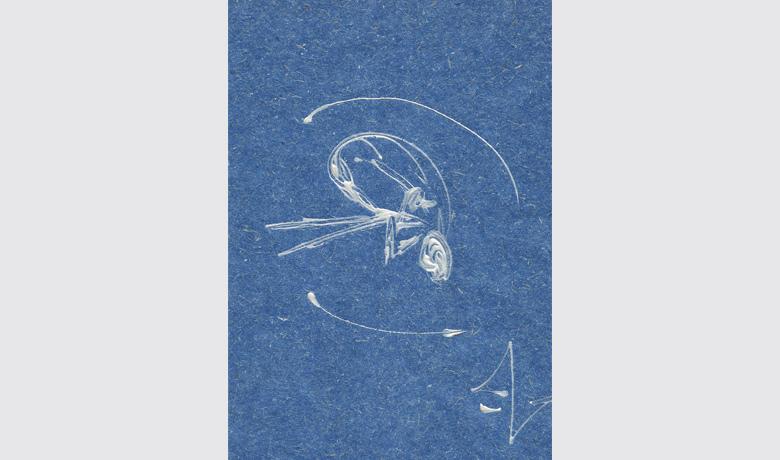 21 x 29cm - 2000 - Tinta Relevo sobre Papel Reciclado