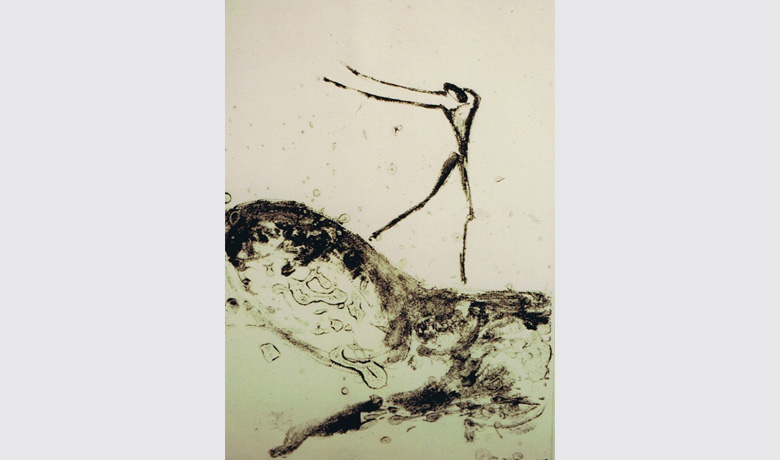 20 x 28cm - 02/2003 - Plexigravure & Carborundum (Not for sale)